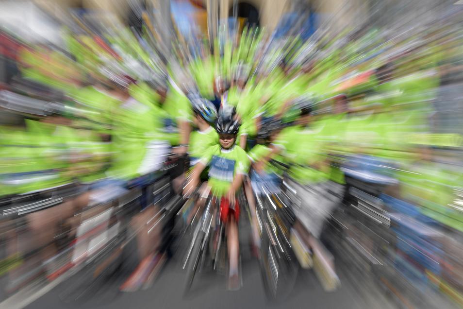 Auch 2018 nahmen zigtausende Radler am SZ-Fahrradfest teil.