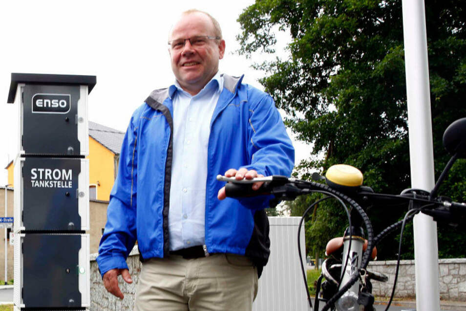 Michael Langwald hat Ottendorf-Okrilla 14 Jahre als Bürgermeister geleitet. Jetzt hängt er noch ein paar Monate dran.