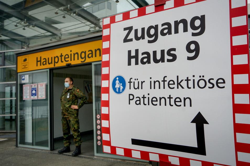 Die Oberlausitz-Kliniken mussten ihre Arbeit neu organisieren, um die vielen Corona-Patienten versorgen zu können. Mehr als 1.000 waren es bereits seit Beginn der Pandemie.