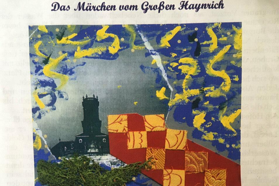 Ausschnitt aus dem Cover der von Jens Heinert geschriebenen Geschichte.