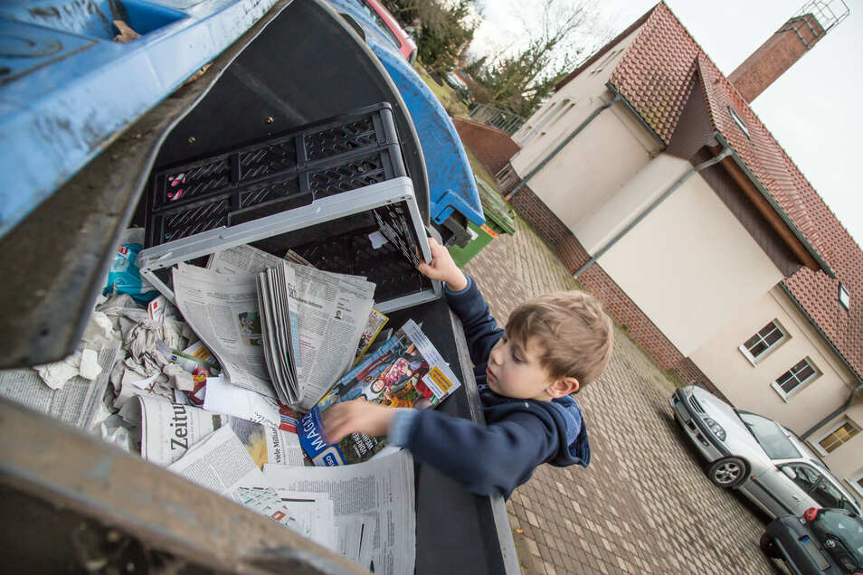 Das in die Container der Kita See geworfene Altpapier wurde viele Jahre vergütet. Seit Anfang Dezember hat die Niederschlesische Entsorgungsgesellschaft ihre Zahlungen aber eingestellt.