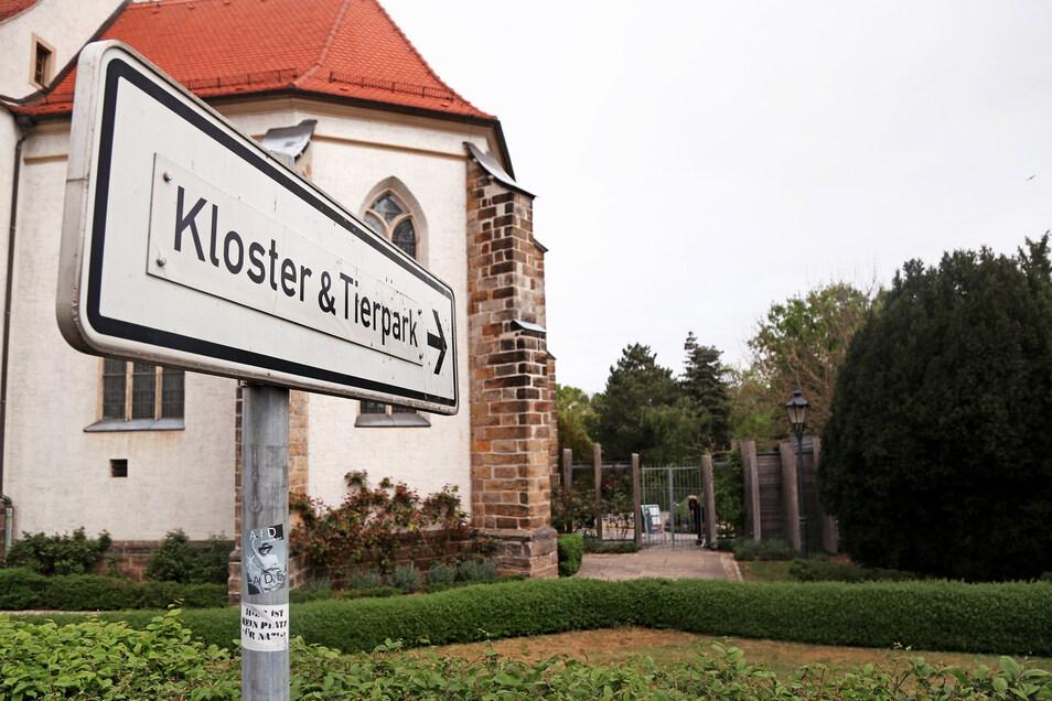 Der Tierpark Riesa an der Klosterkirche ist ab dem 4. Mai wieder geöffnet.