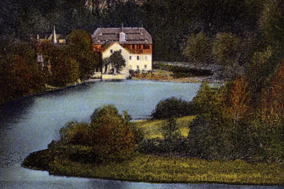 Die Lauenhainer Mühler war 1293 erstmals urkundlich erwähnt worden.