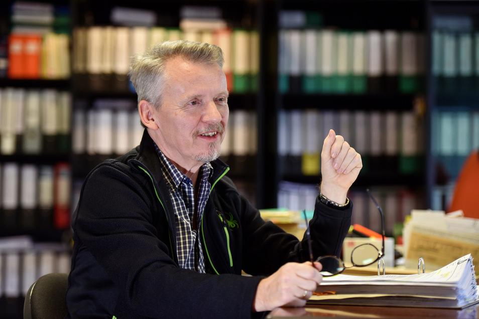 Olbersdorfs Bürgermeister Andreas Förster.