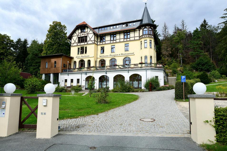 Das Alte Kurhaus in Lückendorf schließt zum Monatsende.