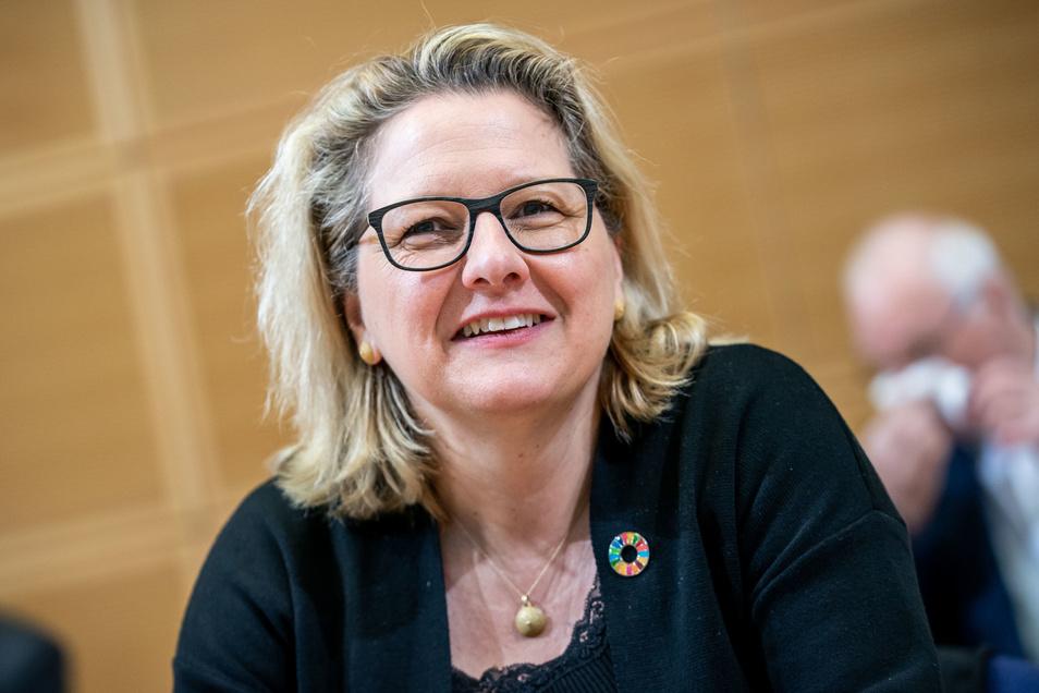 Svenja Schulze (SPD), Bundesministerin für Umwelt, Naturschutz und nukleare Sicherheit