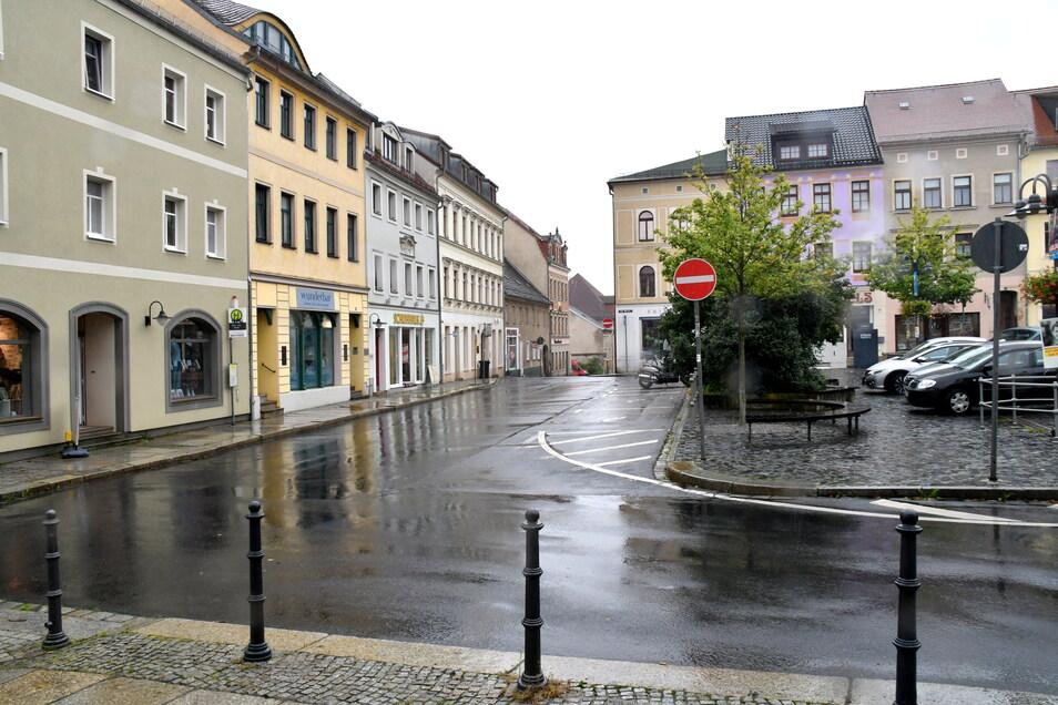 Die Radeberger Innenstadt.
