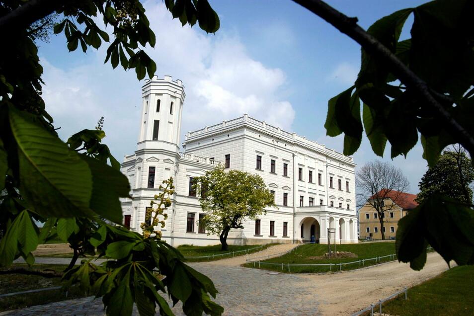 Schön ist Schloss Krobnitz, aber abgelegen. Jetzt gibt es die Idee, hier ein Landesmuseum Oberlausitz einzurichten.