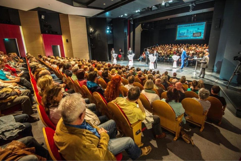 Vor vier Jahren hatten SZ und Theater im Bautzener OB-Wahlkampf Hunderte Bürger für das Wahlforum interessiert. In zwei Wochen gibt es eine Neuauflage zur Wahl des Bautzener Stadtrates.