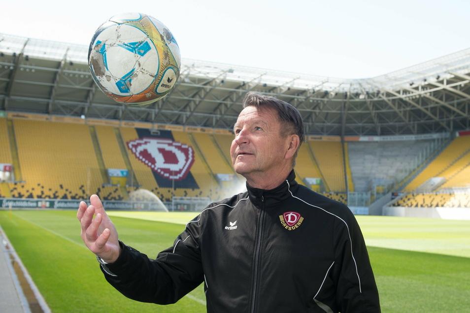 Mit Dynamo ist Dixie Dörner immer noch eng verbunden, telefoniert oft mit Sportgeschäftsführer Ralf Becker.