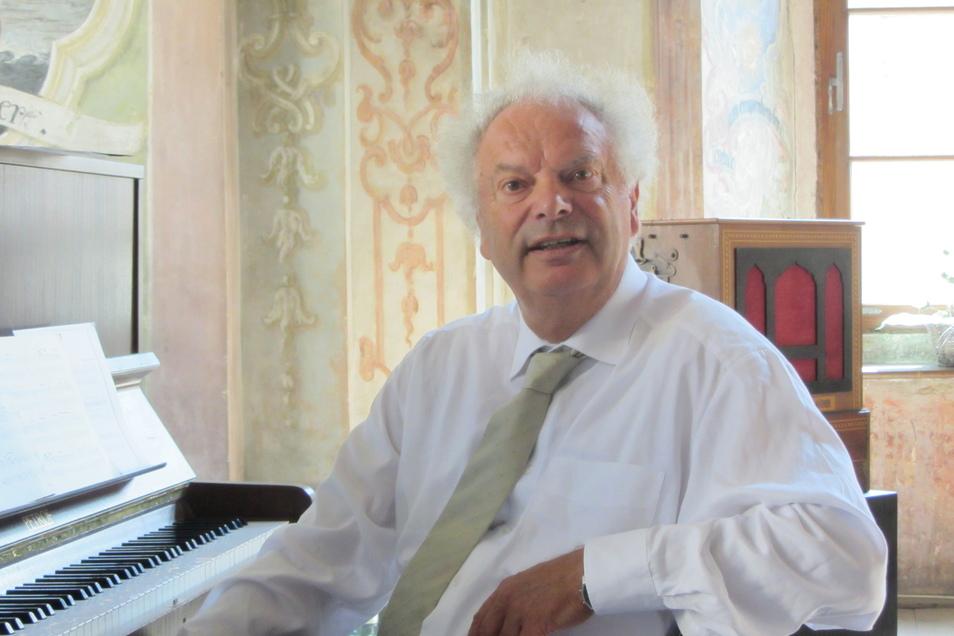"""Der Zittauer Komponist Neithard Bethke hat ein Werk von Jakob Böhme vertont. Am Sonntag wird sein """"Colloquium Viatorum"""" in der Görlitzer Peterskirche uraufgeführt."""