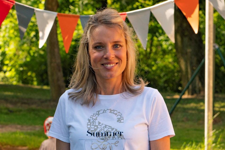 Julia Zschörper ist seit vorigen September Einrichtungsleiterin im Mäusestübchen Strauch.