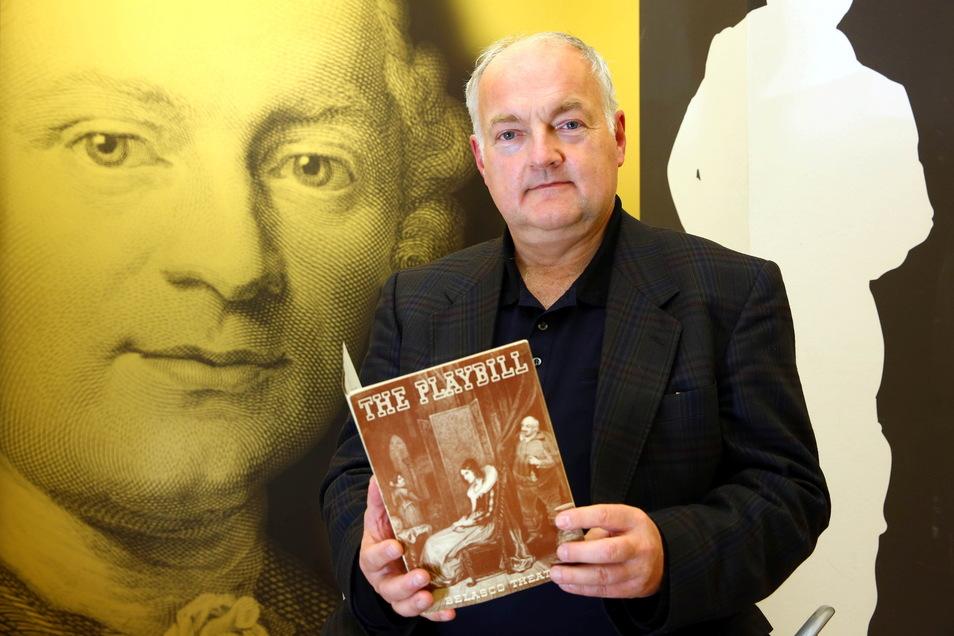Über die Vereinnahmung Lessings durch die Nationalsozialisten hat der Historiker Matthias Hanke vom Lessing-Museum Kamenz in den vergangenen Jahren geforscht. Die Ergebnisse fließen unter anderem in eine Sonderausstellung im Rahmen der Lessing-Tage ein.