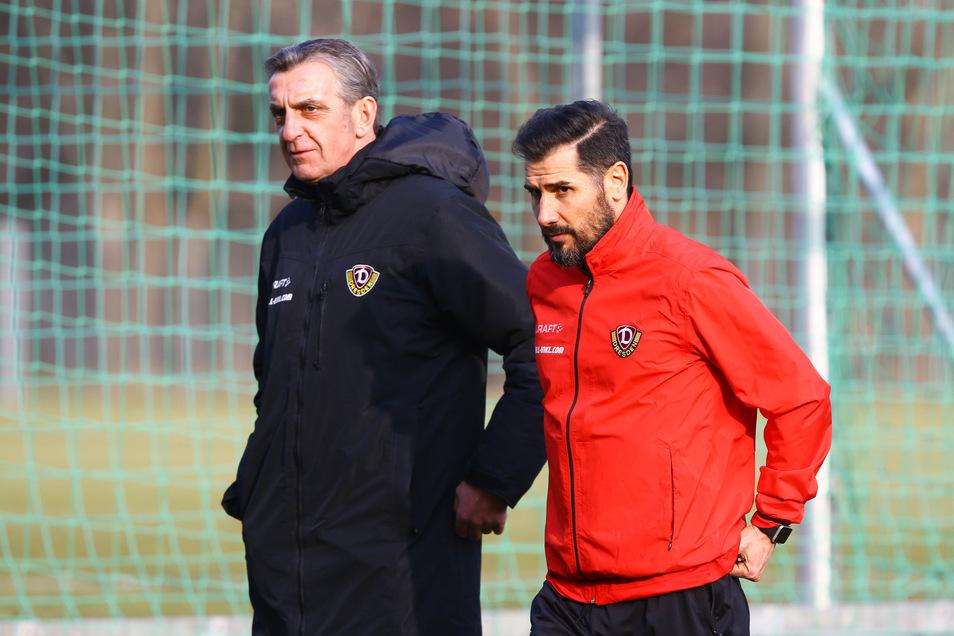 Sportgeschäftsführer Ralf Minge hat Cristian Fiel als Trainer-Projekt für Dynamo aufgebaut und ihn im Februar 2019 zum Chefcoach befördert. Doch nach dem ersten Erfolg mit dem Klassenerhalt hat es in dieser Saison nicht mehr funktioniert.