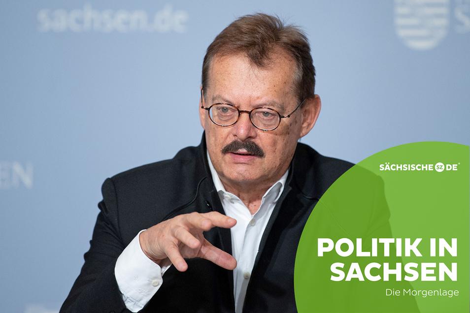 Der Chef des Dresdner Uniklinikums, Michael Albrecht, will die Impfpriorisierung beenden, um das Tempo zu erhöhen.