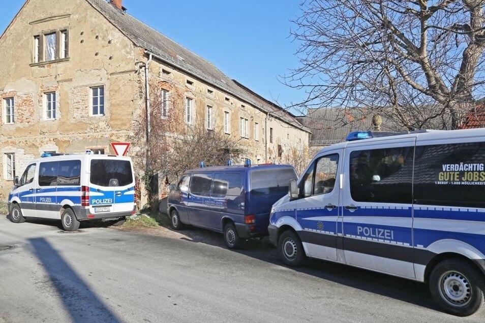 In Peritz bei Riesa gab es erst vor ein paar Tagen eine Durchsuchung bei einem Reichsbürger.