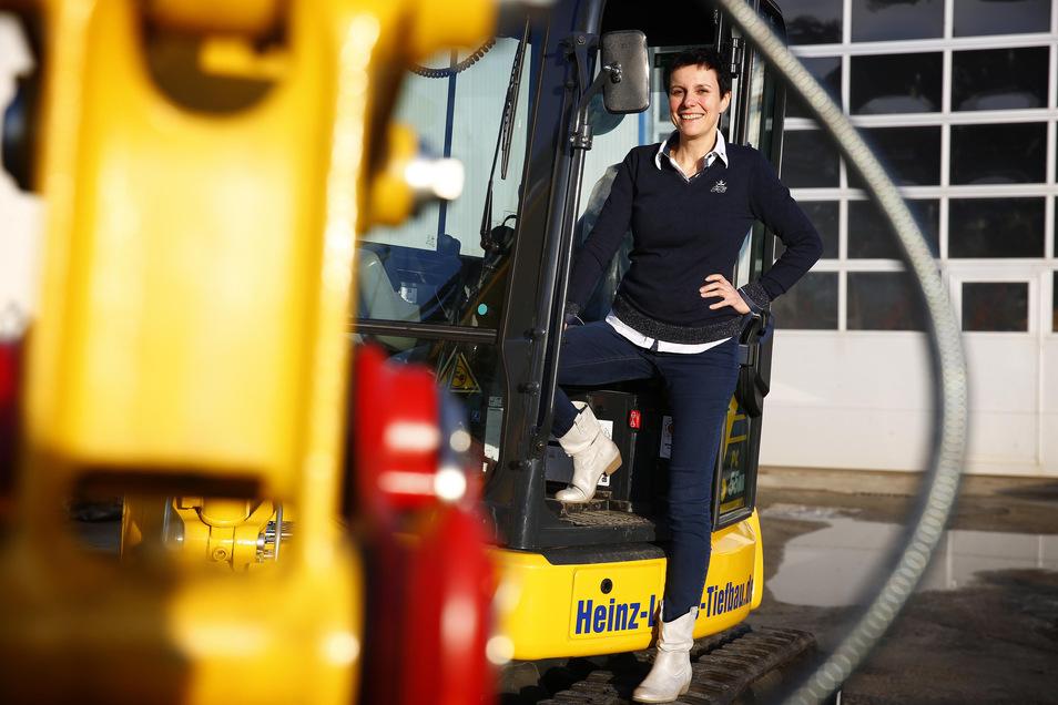 Janet Lange ist Geschäftsführerin des gleichnamigen Bauunternehmens. Sie ist sich sicher: Azubis werden auch künftig gebraucht.