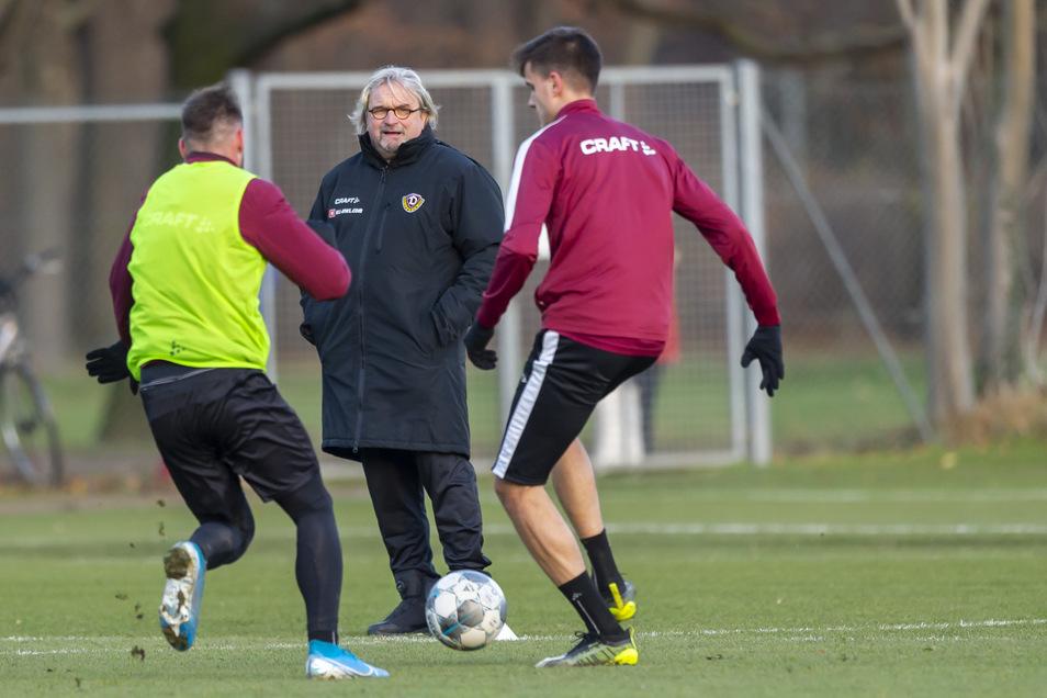 Die ersten Tage als Dynamo-Trainer hat Heiko Scholz hinter sich. Nun stand die erste Spieltagspressekonferenz an.
