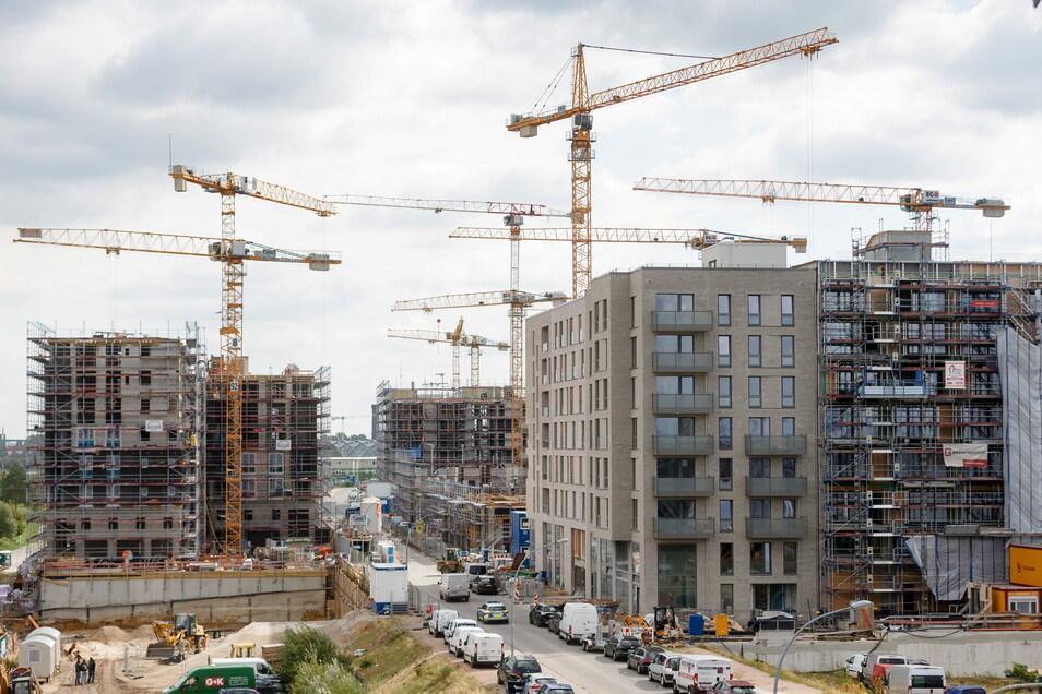 Der Preisanstieg bei Wohnimmobilien hat sich stark beschleunigt.
