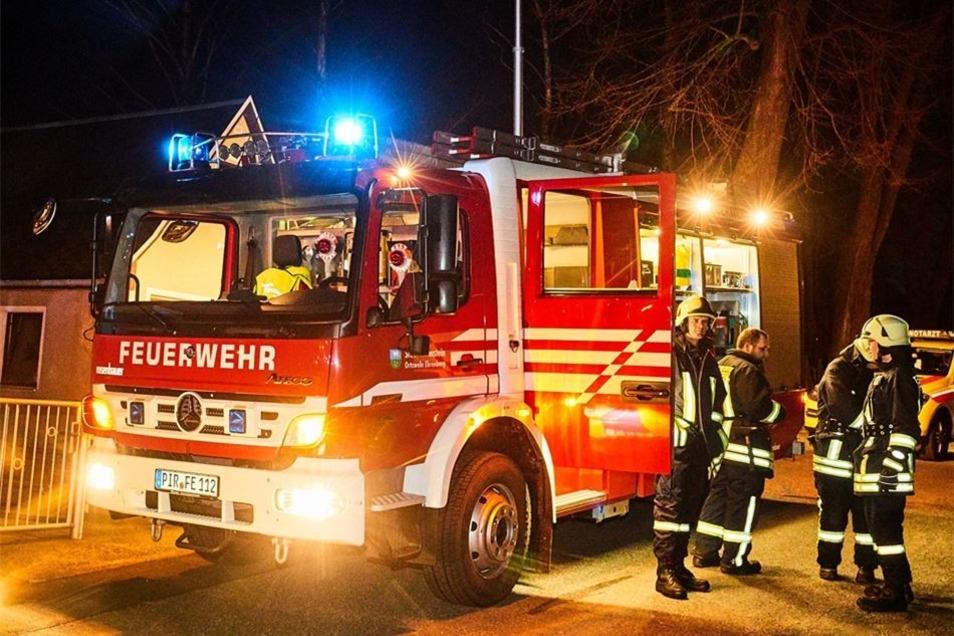 Im Löscheinsatz waren 28 Feuerwehrleute.