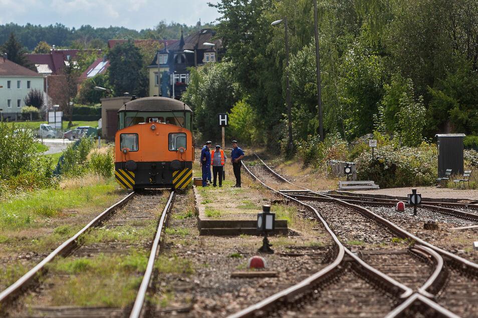 Die Fahrten starten am Sonnabend und Sonntag am Bahnhof in Dresden-Gittersee.