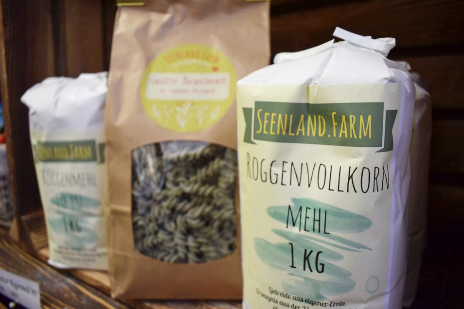 Die neue Marke Seenland Farm bietet bisher Mehl und Nudeln, soll aber in Zukunft weiter ausgebaut werden.