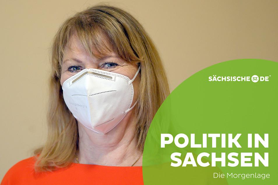 Gesundheitsministerin Petra Köpping informiert heute über die neuen Corona-Regeln in Sachsen.