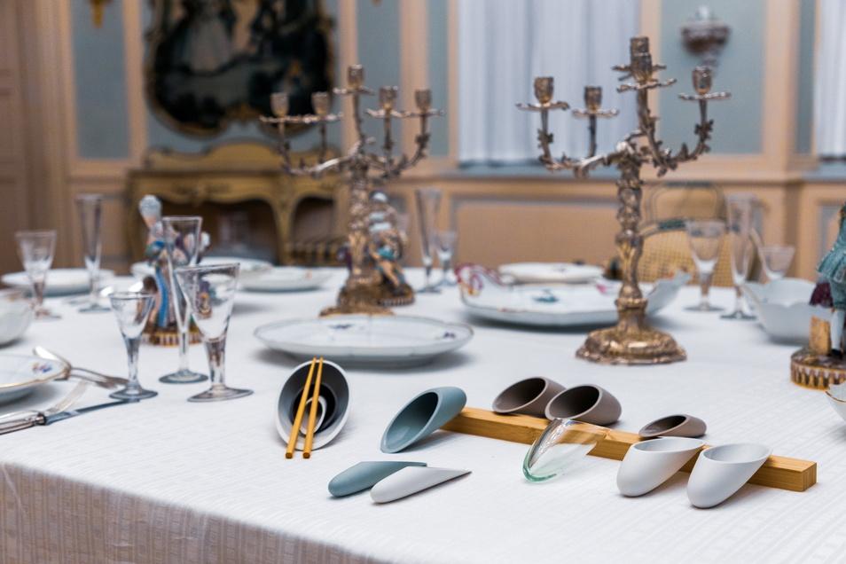 """""""Vaio"""", das sind Essgeräte und Tischgefäße für alle Sinne, entworfen von Judith Anders."""