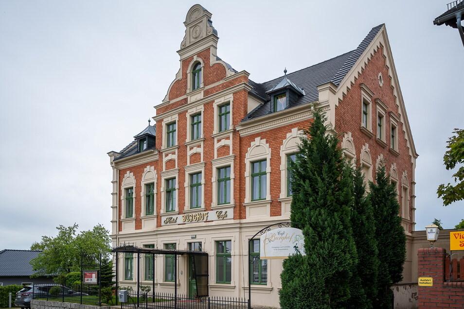 """Das Hotel """"Burghof"""" auf der Promenadenstraße in Görlitz. Es lädt ein zum barrierefreien Urlaub. Das Café vom vorherigen Besitzer wird allerdings nicht fortgeführt."""