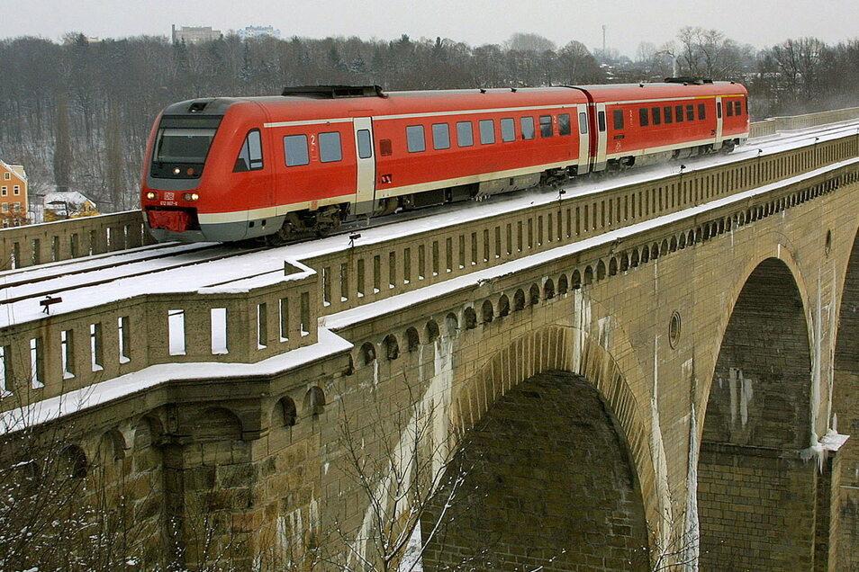 Der Neiße-Viadukt verbindet Görlitz mit Zgorzelec, Deutschland mit Polen. Doch hier verkehren noch nicht allzu viele Züge.