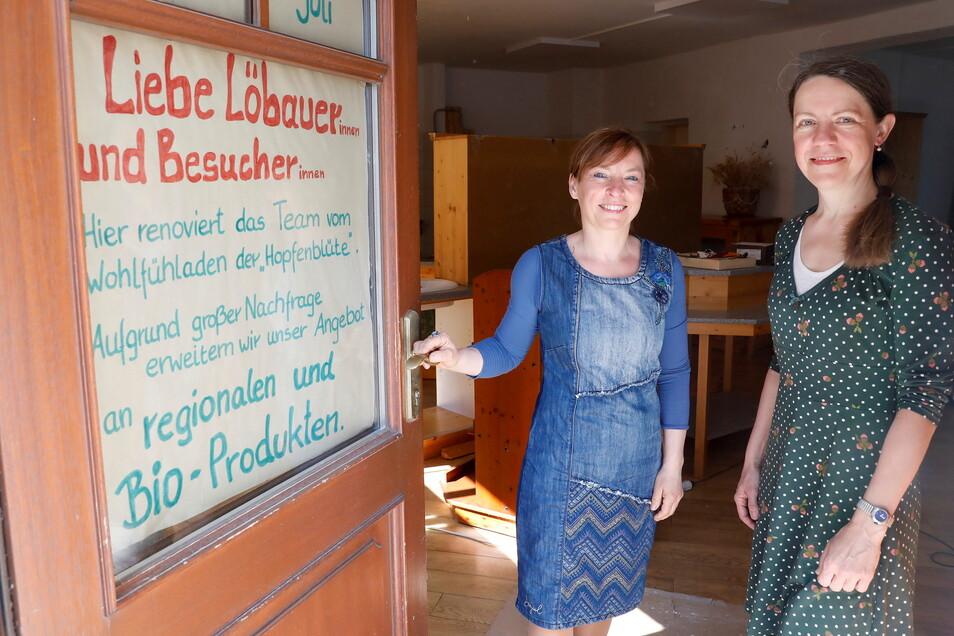 Noch gibt es in den Räumen des früheren Eiscafés in der Nähe des Promenadenrings einiges zu tun, die Ladenausstattung ist noch nicht komplett. Neue Mitarbeiter hat Verena Gebler (links) aber schon gefunden.