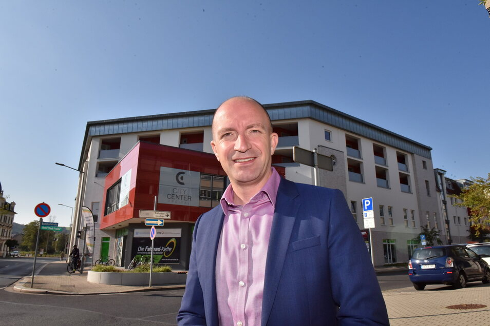 Henryk Eismann ist Geschäftsführer der Wohnungsgesellschaft und kann gute Zahlen verkünden.