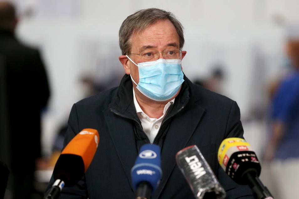 Armin Laschet, Ministerpräsident von Nordrhein-Westfalen, will einen schnellen, harten Lockdown.