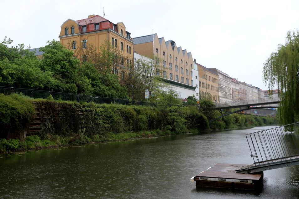 Noch vor wenigen Jahren war Wohnen im Stadtteil Plagwitz in Leipzig verhältnismäßig günstig. Inzwischen gehören die Wohnungen am Kanal zu den teuersten der Stadt.