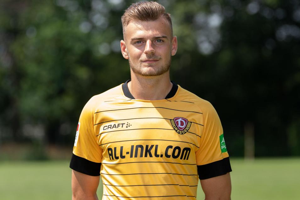 Max Kulke kam bei Dynamo bisher nur zu Kurz-Einsätzen.