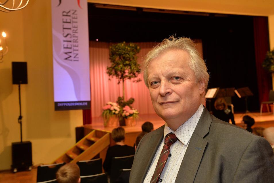 Helmut Branny hatte die Idee zu dem Konzert.