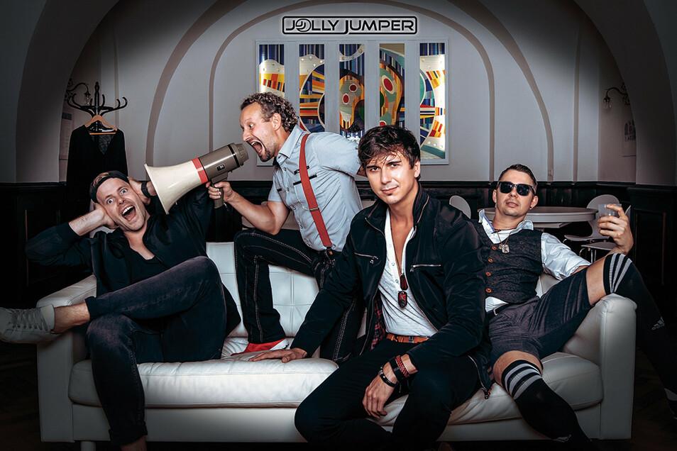 Die Partyband Jolly Jumper wird am Sonnabendabend in Bretnig zu erleben sein.