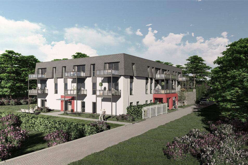 Auf dem Papier sind die Pläne für das altengerechte Wohnen in Großpostwitz bereits fertig. Bis zum Herbst 2021 soll das Projekt am Raschaer Berg umgesetzt werden.