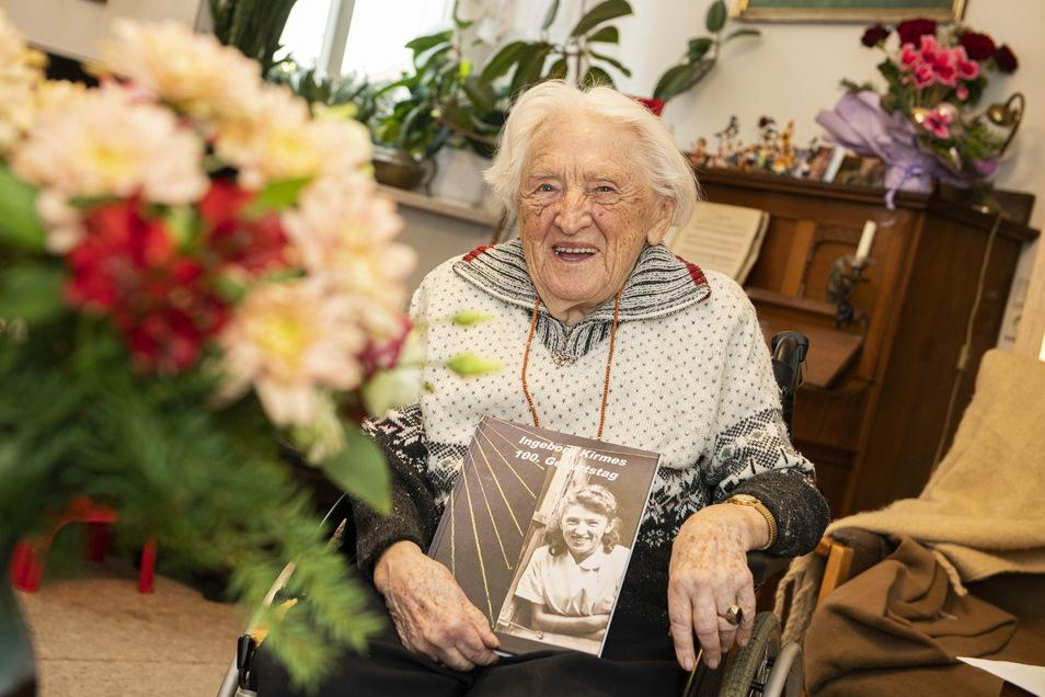 Ingeborg Kirmes aus Großenhain ist 100 Jahre alt geworden.