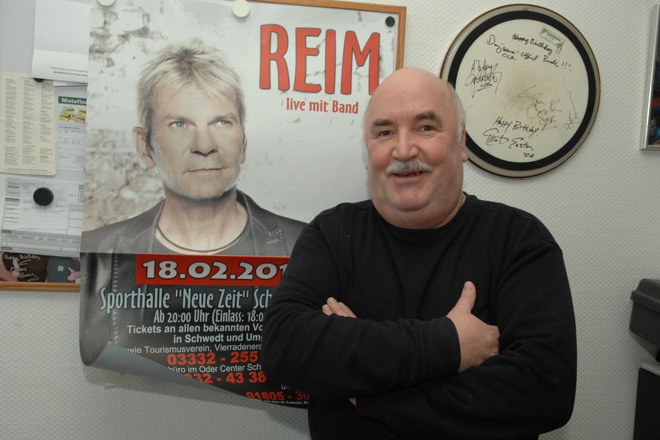 Der Löbauer Konzertveranstalter Rudolf Hauptmann hatte früher Matthias Reim unter Vertrag, jetzt tourt er mit einer Abba-Show.