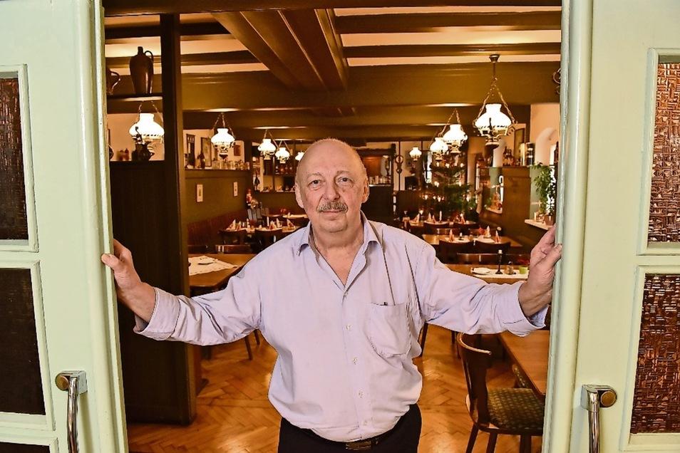 Bis Sonntag führt Horst Wagner seine Gaststätte im Kulturzentrum Parksäle. Dann räumt er aus und geht in den Ruhestand.