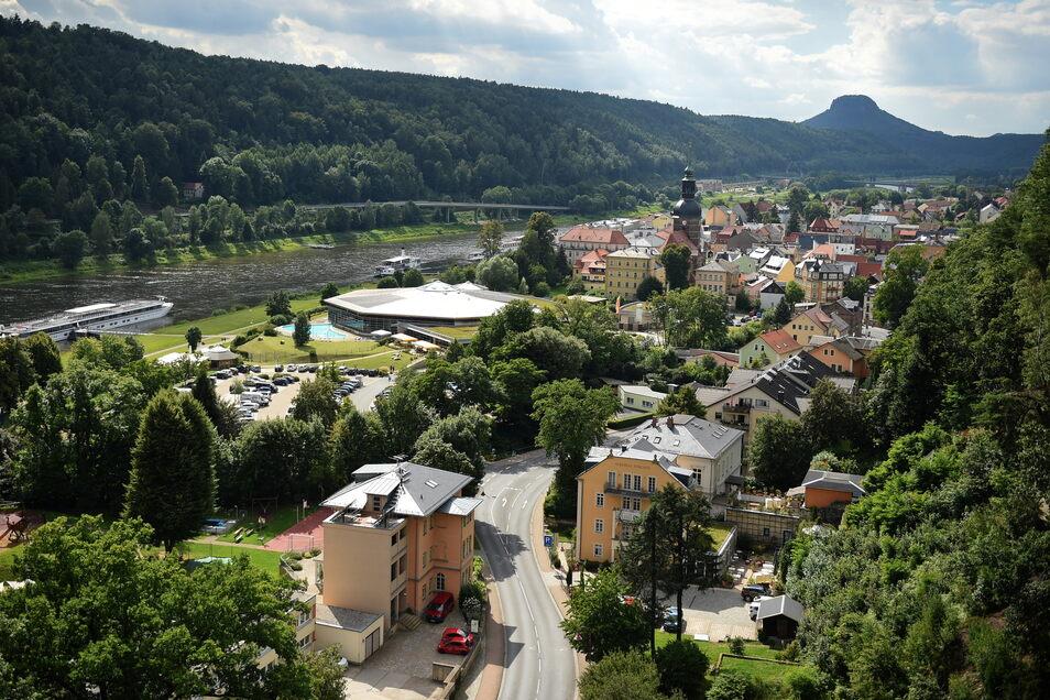 Auch in der sächsischen Schweiz, wie hier in Bad Schandau, steigen die Mieten - das belastet viele Haushalte.