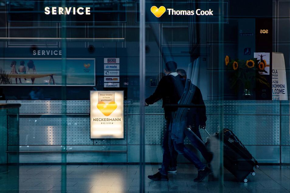 Der insolvente deutsche Reiseveranstalter Thomas Cook hat alle Reisen bis einschließlich 31. Dezember abgesagt. Das gilt auch, wenn sie bereits teilweise oder gänzlich bezahlt wurden.