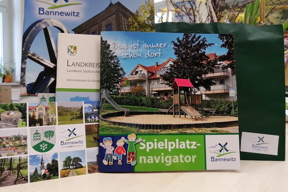 Das Willkommenspaket für neue Bannewitzer enthält viele nützliche Infos rund um die Gemeinde.