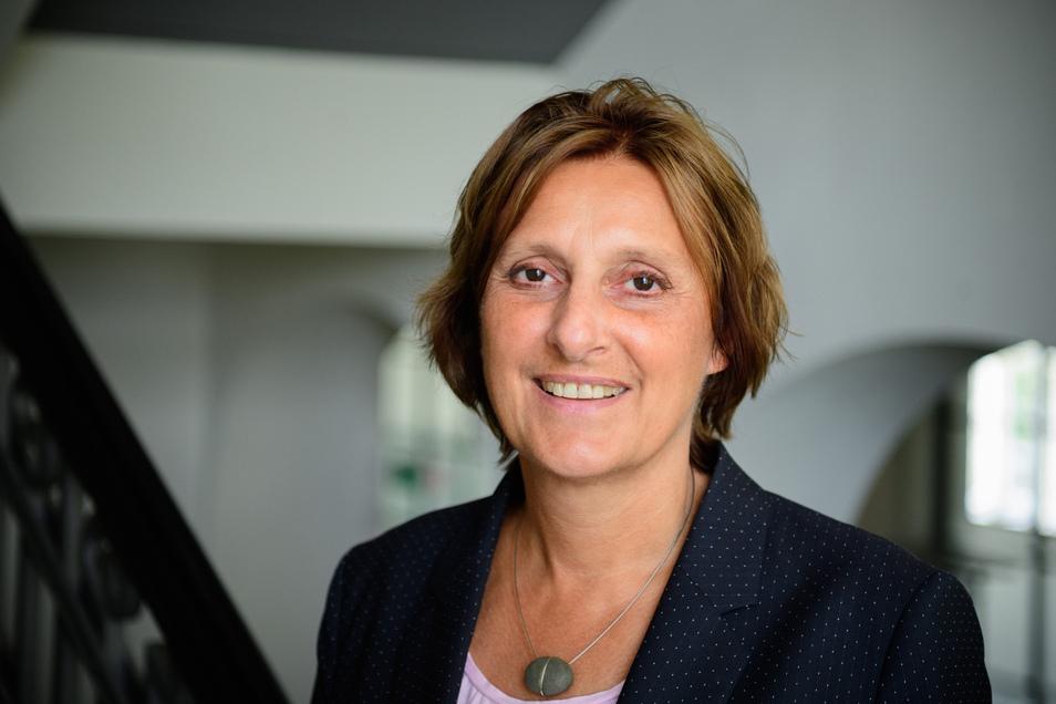 Britta Ernst (SPD) ist Brandenburger Ministerin für Bildung, Jugend und Sport. Und sie ist die Ehefrau Olaf Scholz'.