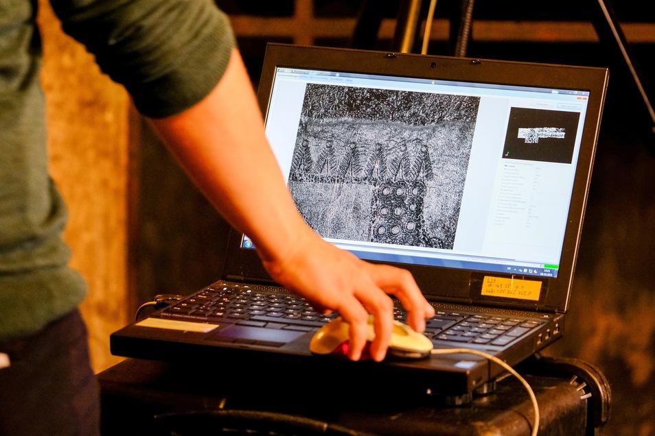 Mithilfe eines 3D-Scanners wurde die letzten zwei Jahre untersucht, wie sich die Oberfläche verändert.