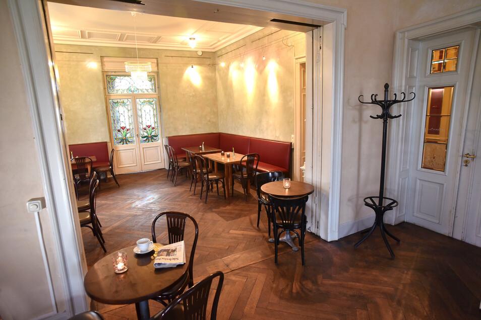 So sieht das Café nach der Renovierung aus.