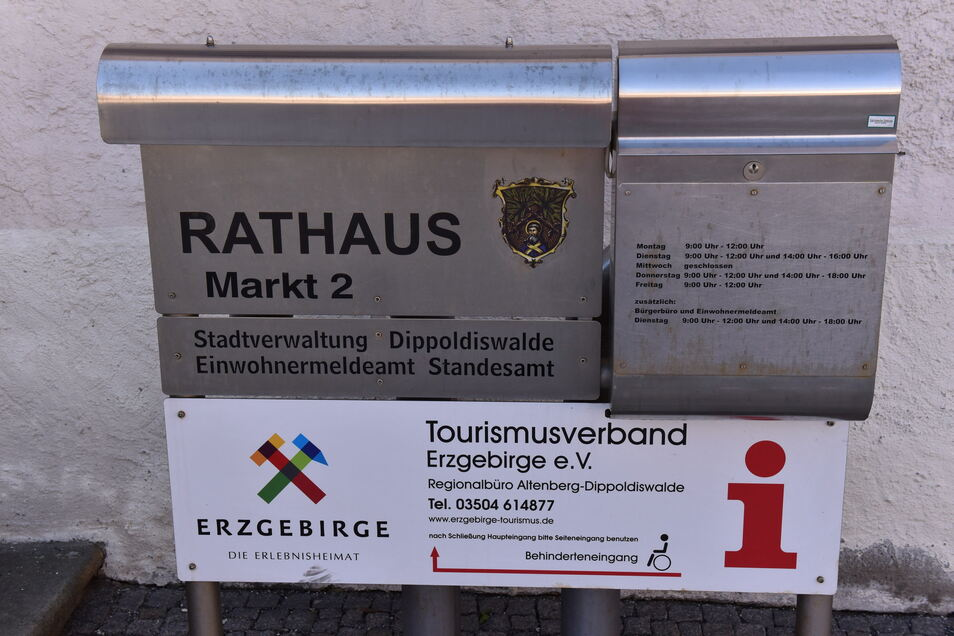 Der klassische Briefkasten ist derzeit der sicherste Weg, um mit der Stadtverwaltung Dippoldiswalde in Kontakt zu treten. Das IT-System der Stadt ist immer noch wegen eines Hackerangriffs eingeschränkt.