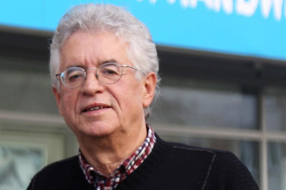 Auf der Suche nach einem Citymanager: Kurt Hähnichen vom Handels- und Gewerbeverein HGV Riesa.