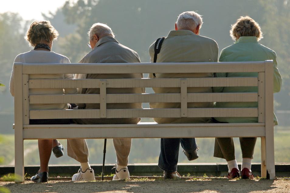 Die Bevölkerung Sachsens wird laut Statistik im Durchschnitt immer älter.